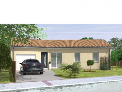 Modèle de maison Avant-Projet JARD SUR MER - 90 m2 - 3 chambres 3 chambres  : Photo 1