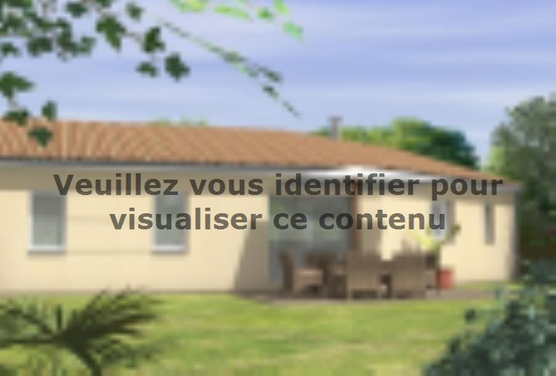 Modèle de maison Avant-Projet JARD SUR MER - 90 m2 - 3 chambres : Vignette 2