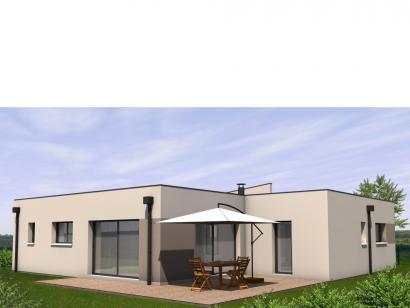 Modèle de maison Avant-Projet LES EPESSES - 120 m² - 4 chambres 4 chambres  : Photo 1