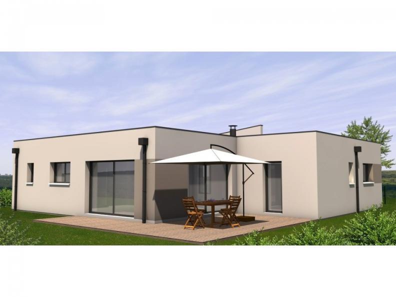 Modèle de maison Avant-Projet LES EPESSES - 120 m² - 4 chambres : Vignette 1