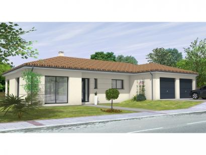 Modèle de maison Avant-Projet FOUGERE - 140 m² - 4 chambres 4 chambres  : Photo 2
