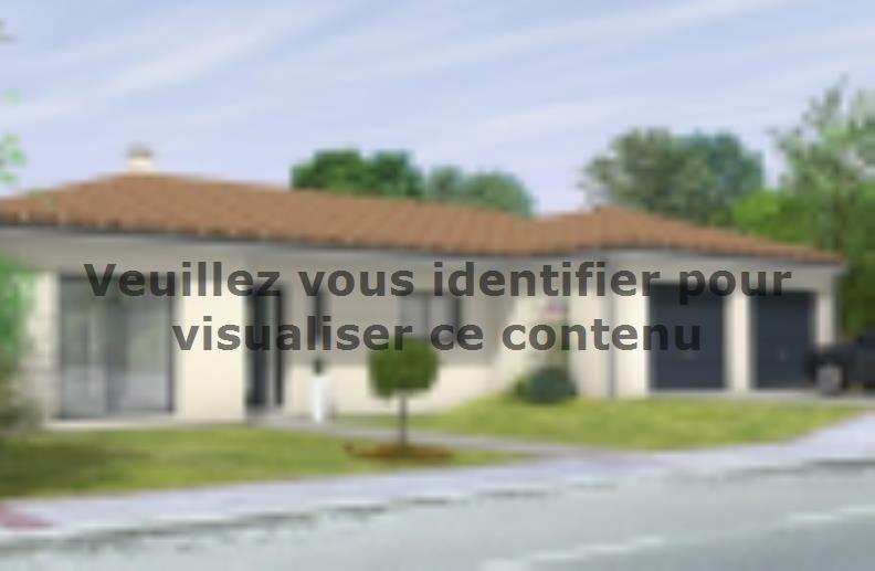 Modèle de maison Avant-Projet FOUGERE - 140 m² - 4 chambres : Vignette 2