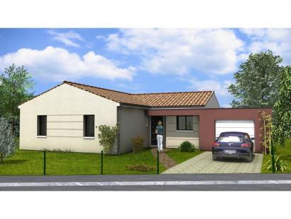 Modèle de maison Avant-Projet AIZENAY - 96 m2 - 3 chambres 3 chambres  : Photo 1
