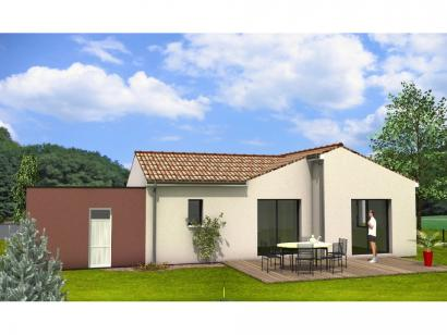 Modèle de maison Avant-Projet AIZENAY - 96 m2 - 3 chambres 3 chambres  : Photo 2