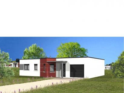 Modèle de maison Avant projet TALMONT ST HILAIRE 83m² - 3chambres 3 chambres  : Photo 1