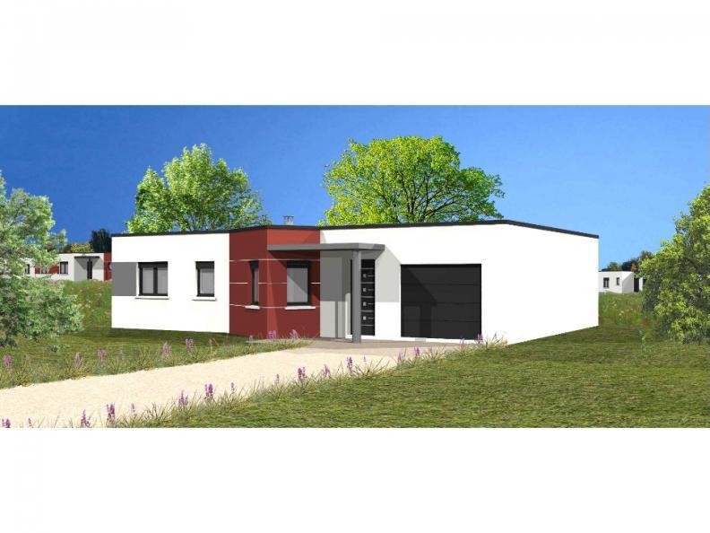 Modèle de maison Avant projet TALMONT ST HILAIRE 83m² - 3chambres : Vignette 1