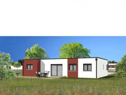 Modèle de maison Avant projet TALMONT ST HILAIRE 83m² - 3chambres 3 chambres  : Photo 2