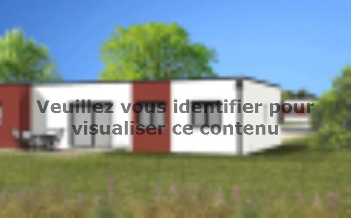 Modèle de maison Avant projet TALMONT ST HILAIRE 83m² - 3chambres : Vignette 2