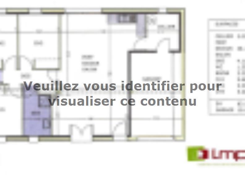 Modèle de maison Avant projet TALMONT ST HILAIRE 83m² - 3chambres : Vignette 3