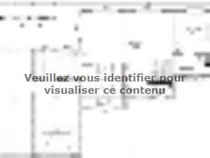 Plan de maison Avant-Projet LANDERONDE - 110 m² - 3 chambres 3 chambres  : Photo 1