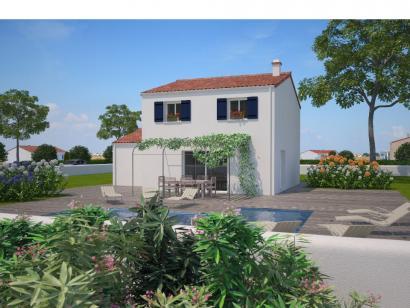 Modèle de maison Avant-projet LA CHATAIGNERAIE - 91 m² - 3 chambres 3 chambres  : Photo 1