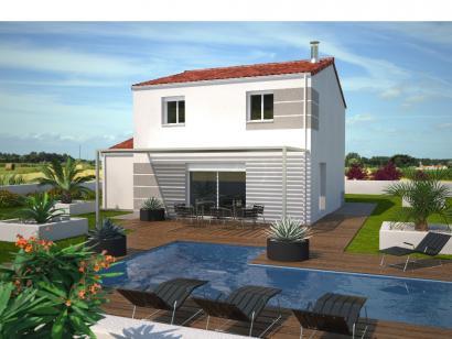 Modèle de maison Avant projet AUBIGNY - 100M² - 4 chambres 4 chambres  : Photo 1