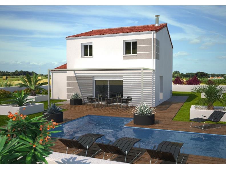 Modèle de maison Avant projet AUBIGNY - 100M² - 4 chambres : Vignette 1