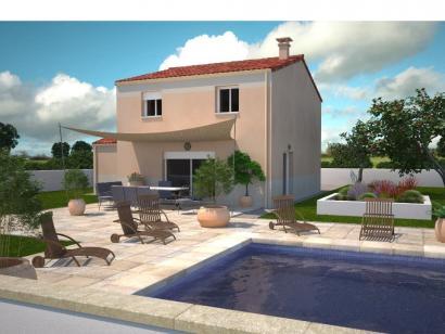 Modèle de maison Avant-Projet CHAILLÉ LES MARAIS - 90 m² - 3 chambr 3 chambres  : Photo 1