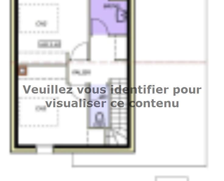 Plan de maison Avant-projet LA CHATAIGNERAIE - 91 m² - 3 chambres : Vignette 2