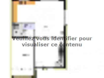 Plan de maison Avant projet AUBIGNY - 100M² - 4 chambres 3 chambres  : Photo 1