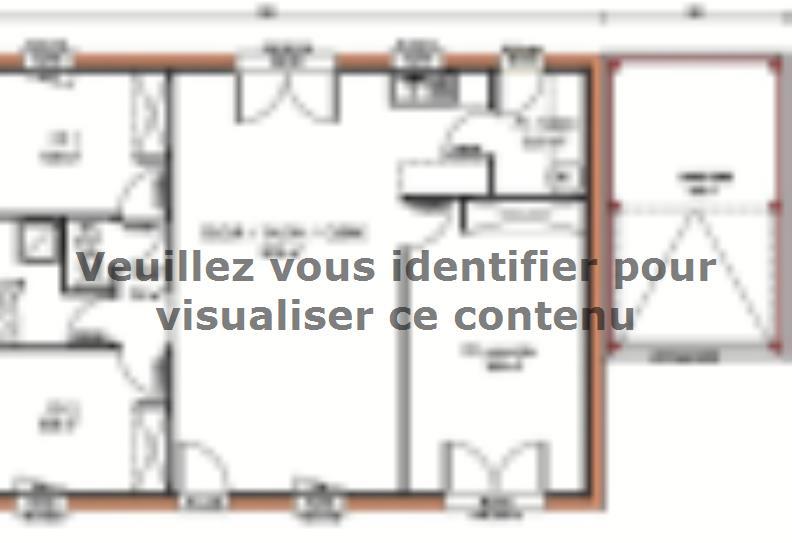 Plan de maison Avant-Projet MONCOUTANT : Vignette 1
