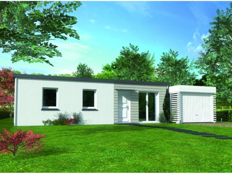 Modèle de maison Avant projet St Maxire : Vignette 1