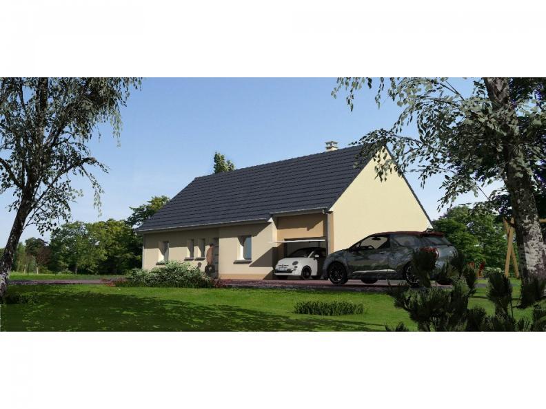 Modèle de maison Autre modèle avec garage et trois chambres au rez- : Vignette 1