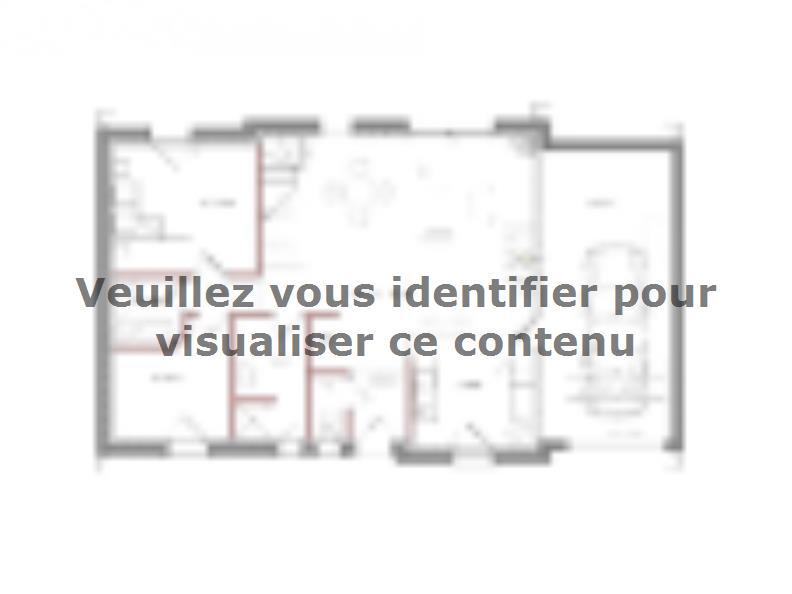 Modèle de maison Autre modèle avec garage et trois chambres au rez- : Vignette 2