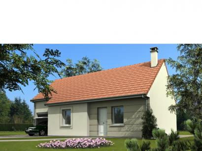 Modèle De Maison Maison Avec Garage Et Combles Aménageables - 1