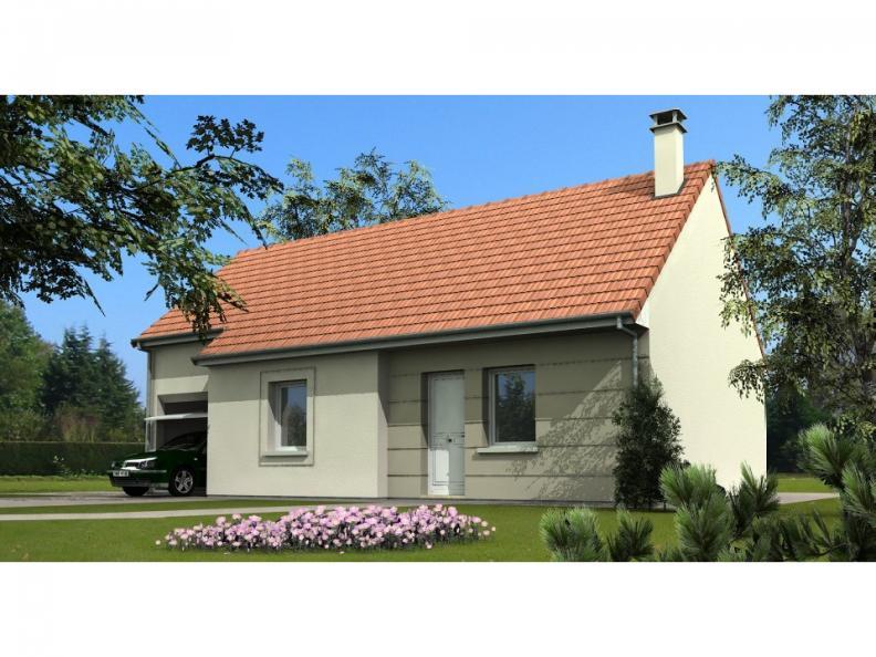 Modèle de maison Maison avec garage et combles aménageables : Vignette 1