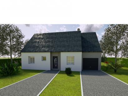 Modèle de maison AVANT PROJET LUCEAU - 70 m² - 2 chambres 2 chambres  : Photo 1