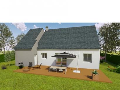 Modèle de maison AVANT PROJET LUCEAU - 70 m² - 2 chambres 2 chambres  : Photo 2