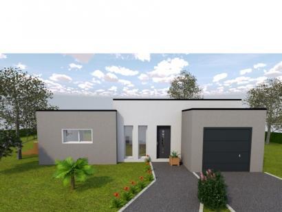Modèle de maison AVANT PROJET Fillé - 90 m² - 3 chambres 3 chambres  : Photo 1