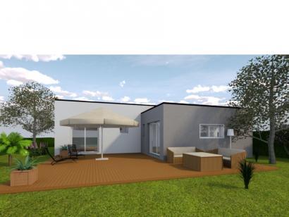 Modèle de maison AVANT PROJET Fillé - 90 m² - 3 chambres 3 chambres  : Photo 2