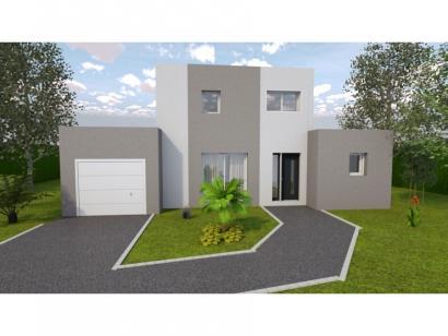 Modèle de maison AVANT PROJET Lemans - 120 m² - 3 chambres 3 chambres  : Photo 1