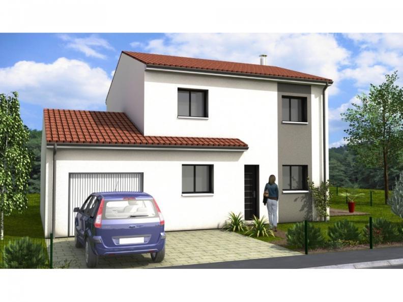 Modèle de maison Avant-Projet FERRIERE - 105 m2 - 3 chambres : Vignette 1