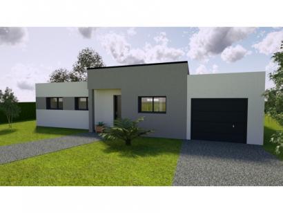 Modèle de maison AVANT PROJET NEUVILLE - 3 chambres - plain-pied 3 chambres  : Photo 1