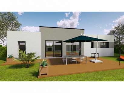 Modèle de maison AVANT PROJET NEUVILLE - 3 chambres - plain-pied 3 chambres  : Photo 2
