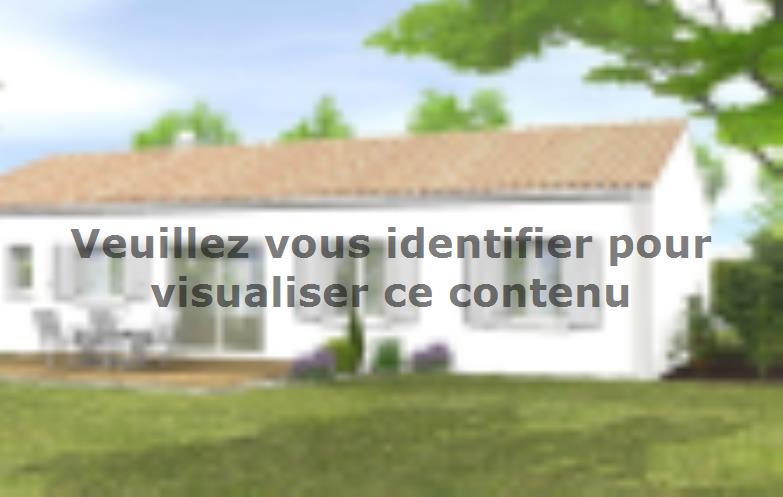 Modèle de maison Avant Projet LA TRANCHE SUR MER - 75 m² - 2 chambr : Vignette 2