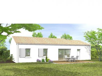 Modèle de maison Avant projet BOURNEZEAU 72m² - 3 chambres 3 chambres  : Photo 2
