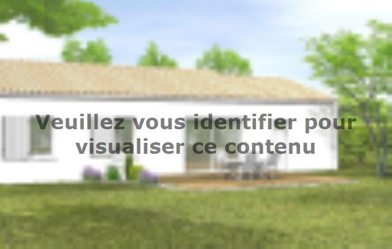 Modèle de maison Avant projet BOURNEZEAU 72m² - 3 chambres : Vignette 2