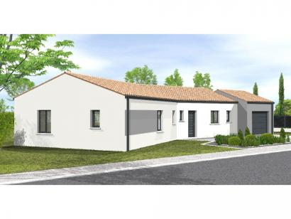 Modèle de maison Avant projet Chantonnay  110 m² -4 chambres 4 chambres  : Photo 1