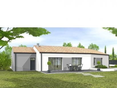 Modèle de maison Avant projet Chantonnay  110 m² -4 chambres 4 chambres  : Photo 2