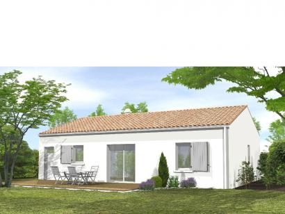 Modèle de maison Avant Projet LA GENETOUZE  58 m² - 1 chambre 1 chambre  : Photo 2