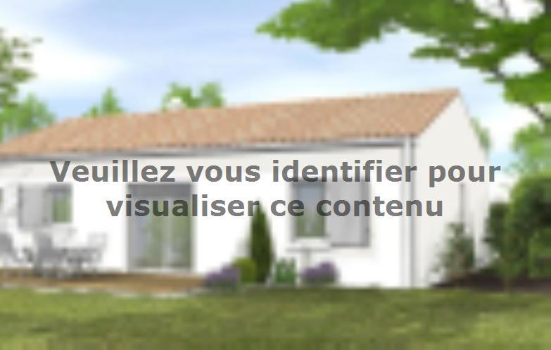 Modèle de maison Avant Projet LA GENETOUZE  58 m² - 1 chambre : Vignette 2