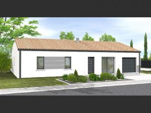 Avant projet NIORT  89 m² - 4 chambres