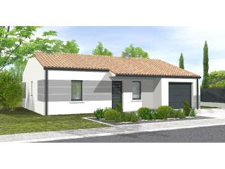 Avant-Projet AIZENAY  81 m² - 3 chambres