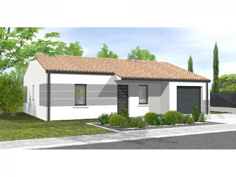 Modèle de maison Avant-Projet AIZENAY  81 m² - 3 chambres : Vignette 1
