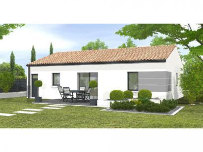 Modèle de maison Avant-Projet AIZENAY  81 m² - 3 chambres 3 chambres  : Photo 2