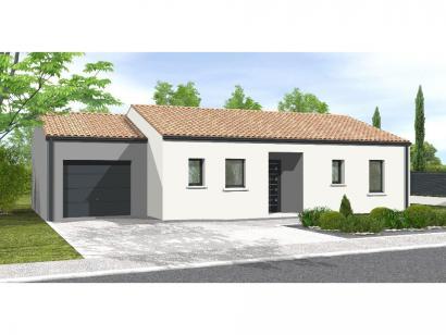 Modèle de maison Avant-projet APREMONT - 103 m² - 4 chambres 4 chambres  : Photo 1