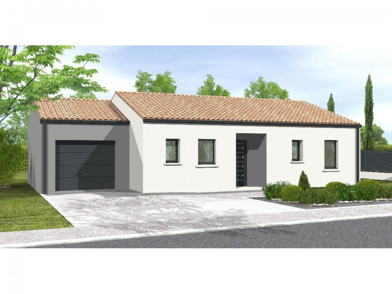 Modèle de maison Avant-projet APREMONT - 103 m² - 4 chambres : Vignette 1