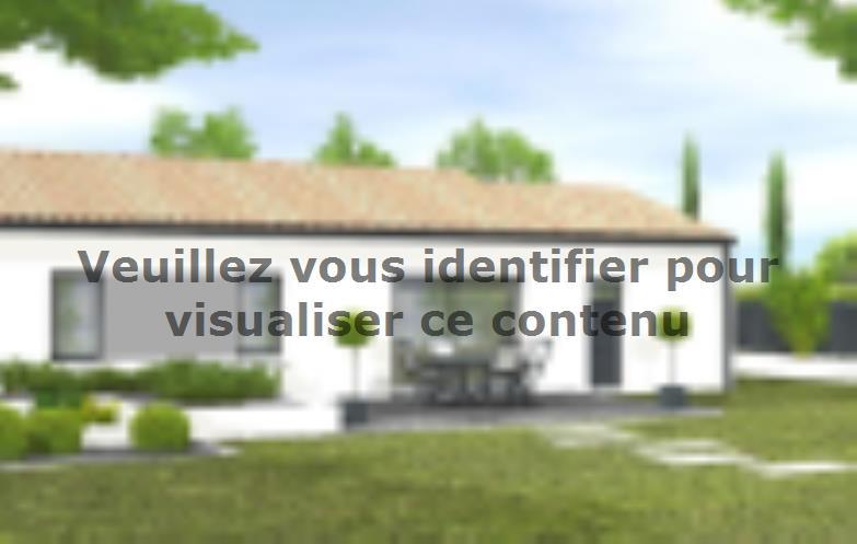 Modèle de maison Avant-projet APREMONT - 103 m² - 4 chambres : Vignette 2