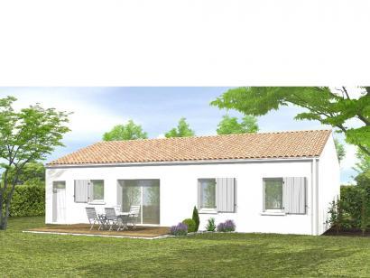 Modèle de maison Avant-projet BENET - 79 m² - 3 chambres 3 chambres  : Photo 2