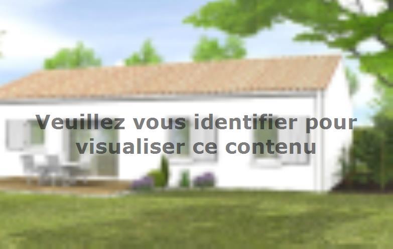 Modèle de maison Avant-projet BENET - 79 m² - 3 chambres : Vignette 2
